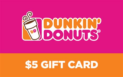 5 For A 10 Dunkin Donuts Gift Card - dunkin donuts gift card deal gift ftempo