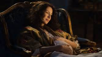 outlander producer on jamie frank scene claire s