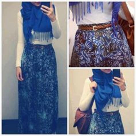 Dress Alif Blue ide gaya on hijabs fashion and