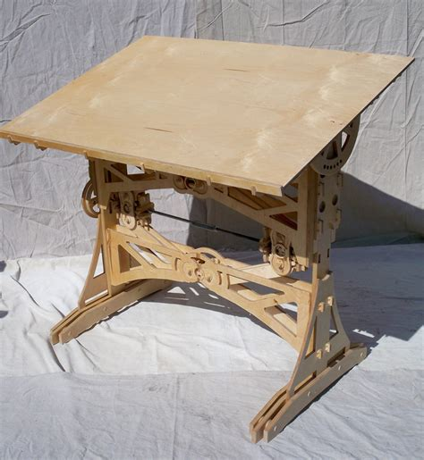 Diy Drawing Desk Week 5 Cnc Joinery Assemblies And Projects Itp Fabrication