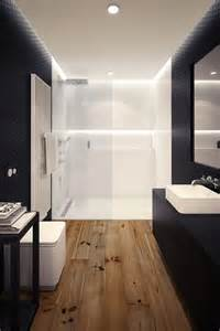 Wood Floor Bathroom Ideas Le Carrelage Imitation Bois En 46 Photos Inspirantes Archzine Fr