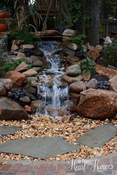renovate backyard best 25 rock waterfall ideas on pinterest dream pools