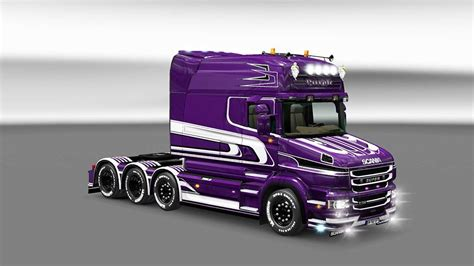 scania purple torpedo skin ets mods