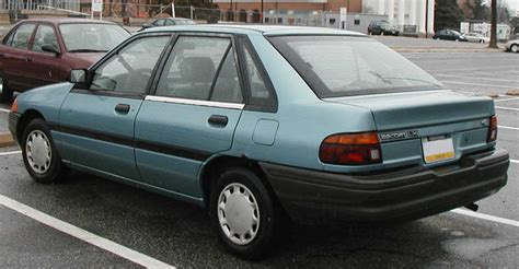 how petrol cars work 1994 ford escort parking system file 1991 1994 ford escort lx hatch rear jpg wikimedia commons