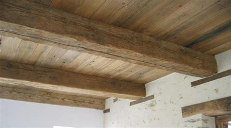 Poutre Pour Plafond by Plafond En Poutres Et Planchet Anciens