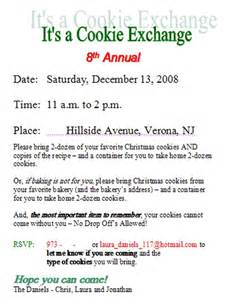 the rules of the cookie exchange cookie exchangecom