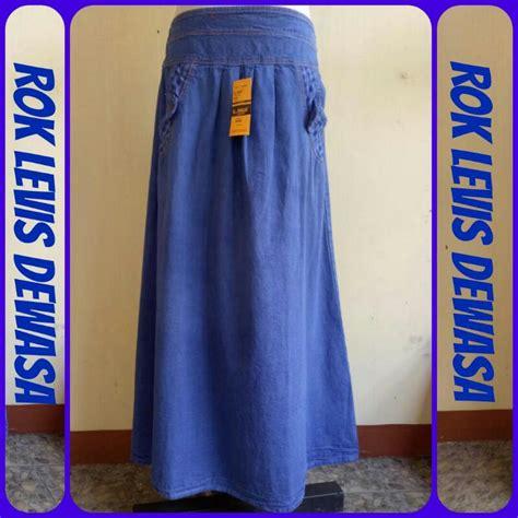 Baju Gamis Levis Dewasa grosir rok levis dewasa panjang termurah bandung 40ribuan baju3500