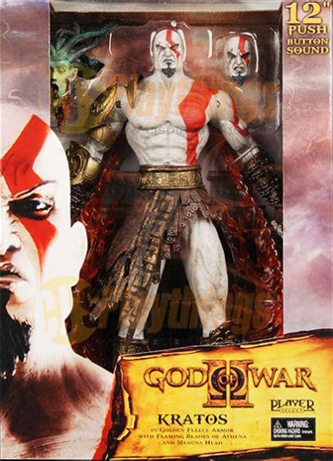Neca Kratos God Of War With Medusa And Golden Armor Fleece neca player select god of war 2 12 quot kratos talking w medusa
