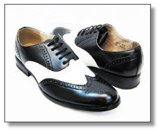 black and white mens oxford shoes majestic s spectators fashionable black and white