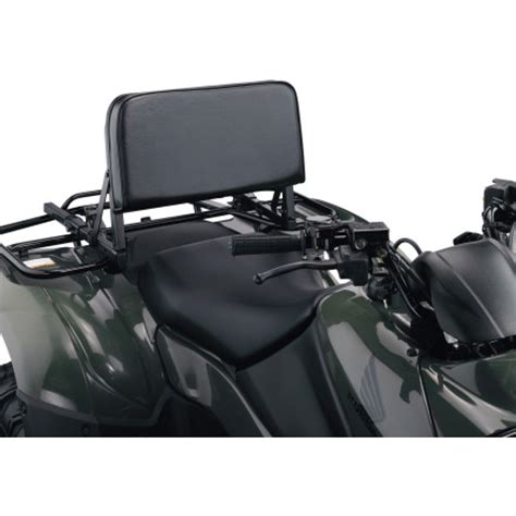 4 Wheeler Rack Seat by Moose Atv Back Rest Motosport