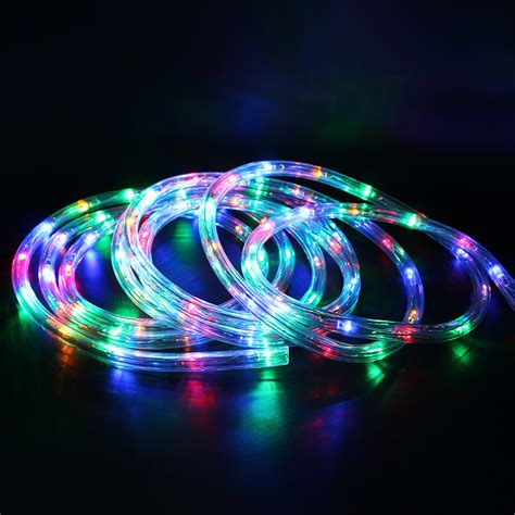 rgb led christmas lights ac220v 20leds m ip67 waterproof rgb led strip christmas