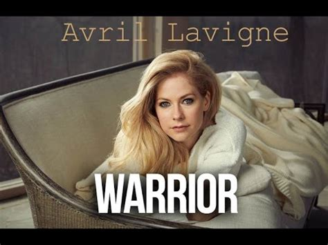 New Promo For Avril Lavigne by Avril Lavigne Warrior Preview New Song