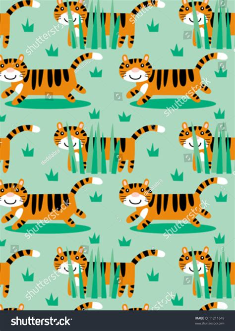 seamless pattern fill illustrator tiger seamless vector pattern can be dragged to swatches