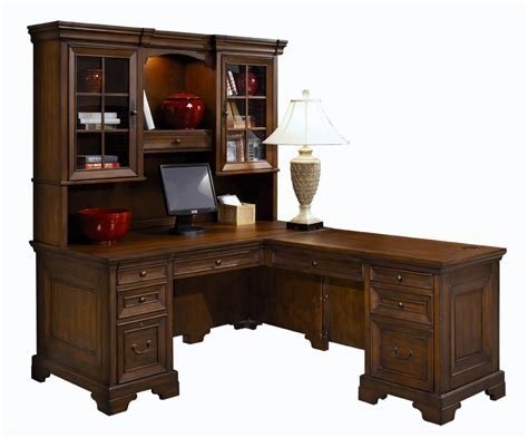 richmond cherry desk and return hom furniture