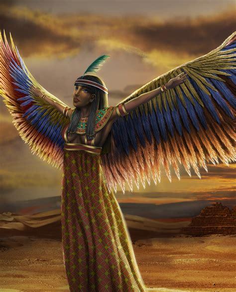 imagenes diosas egipcias la esencia de la diosa ma at la verdad justicia