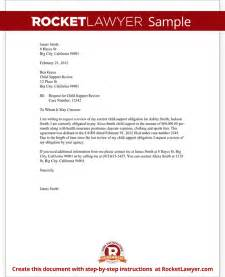 letter of support template child support review letter request review with sample letter of support template best business template