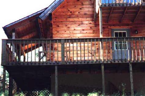 Cabin Builders In Arkansas by Cabin Homes Pole Buildings Cotter Arkansas