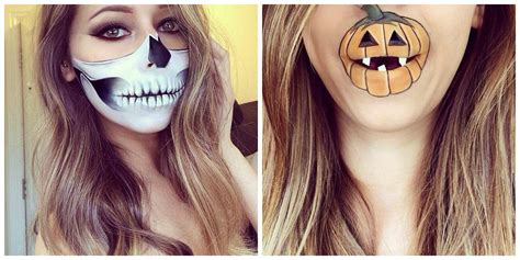 imagenes de halloween para el rostro maquillaje y peinados de halloween