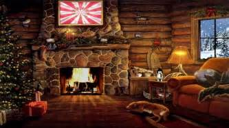 Fireplaces Asheville Nc - christmas cottage with yule log fireplace and snow scene lukeamerica2020 youtube