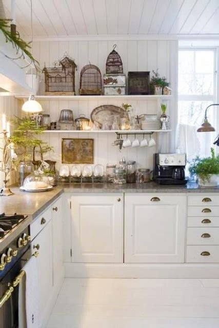 country cottage kitchen accessories 35 cozy and chic farmhouse kitchen d 233 cor ideas digsdigs