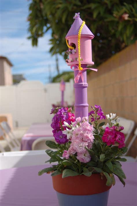 rapunzel tangled centerpiece decorations themes