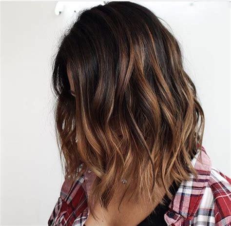 Three Dimension Hair Cuts | dimensional brunette hair ideas pinterest