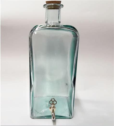 bottiglie di vetro con rubinetto bottiglia con rubinetto