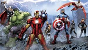 Marvel Wall Mural New Xl Avengers Assemble Prepasted Wallpaper Mural Marvel