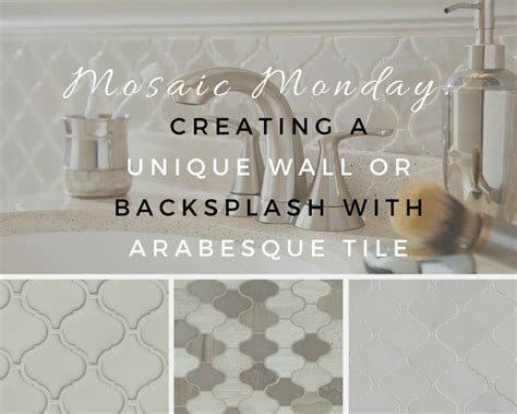 Travertine Bathroom Tile Ideas mosaic monday creating a unique wall or backsplash with
