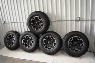 jeep wrangler rubicon black rock oem wheels oem