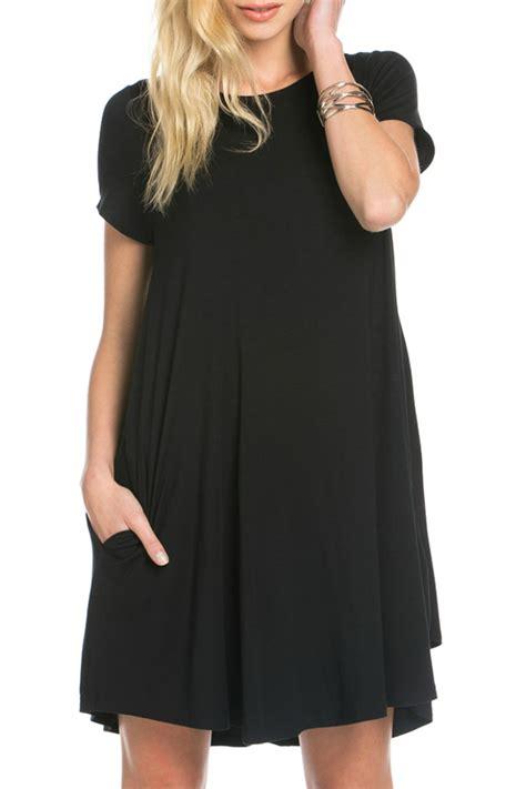 Hm Pocket Shirt Dress Black mittoshop pockets t shirt dress from fayetteville by gatsby s boutique shoptiques