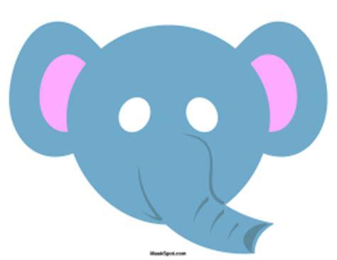 elephant mask template animal masks page 2