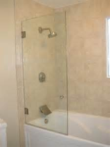frameless glass tub enclosures by furniture city glass