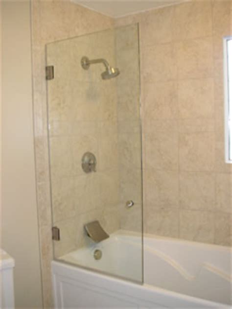 Bathtub Glass Enclosures Frameless by Frameless Tub Enclosures Home Remodeling And Renovation