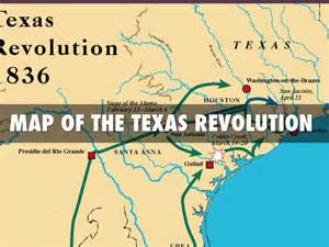 map of the texas revolution westward expansion travel guide project by felisha mims