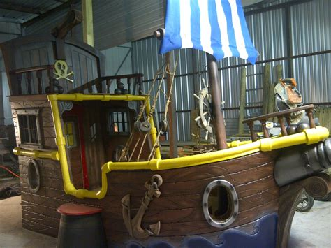 Pirate Ship Toddler Bed by Jake And The Neverland Custom Bed