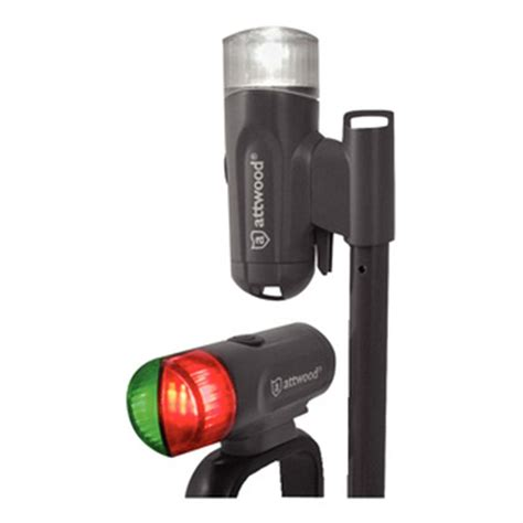 attwood led bow light attwood led bow and stern light combo 587978 boat