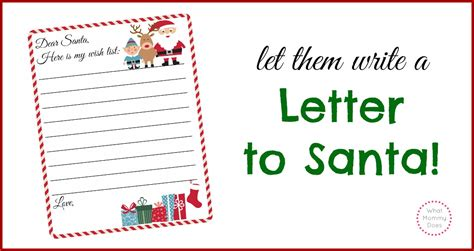 free printable letter to santa template cute christmas free printable letter to santa template cute christmas