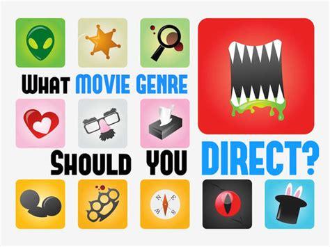 film genre quiz what movie genre should you direct