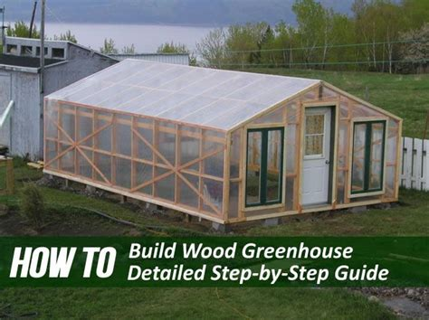 building  wooden greenhouse     daunting