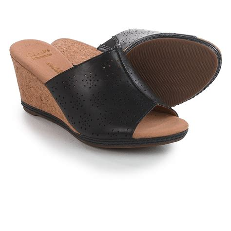 Sandal Wedges Ls02 72 clarks helio corridor wedge sandals for save 72