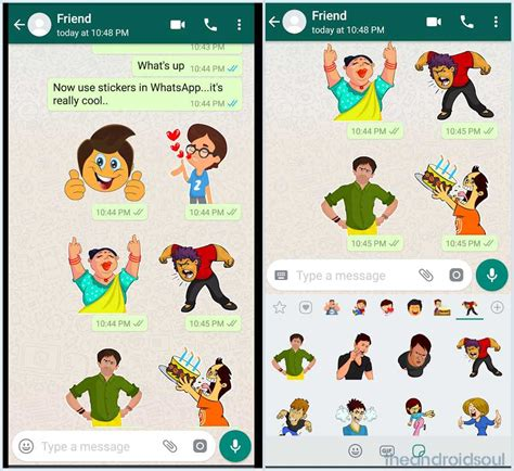 Send Stickers On Whatsapp