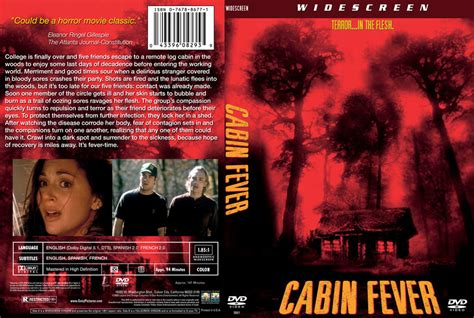 cabin fever dvd custom covers 211cabin fever