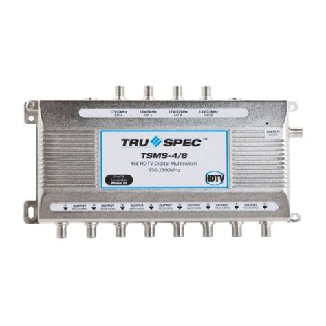shaw direct 4x8 multiswitch