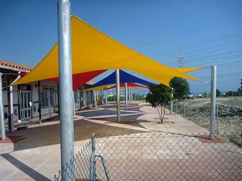 playground shade sail installation cyprus school
