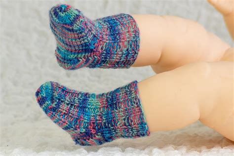 knitting pattern infant socks knit newborn baby socks free knitting pattern