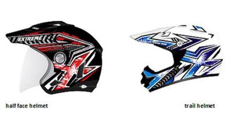 Helm X Ride Yamaha Yamaha Sediakan Helm Offroad X Ride Merdeka