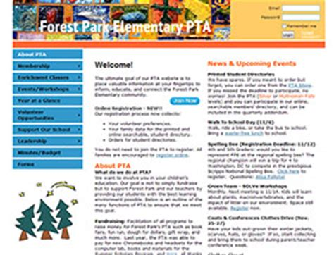 Nys Pta Membership Card Template by Association Management Software Website Exles