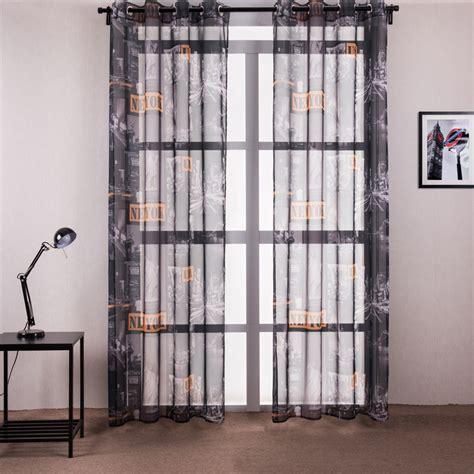 cheap curtains nyc new york city window curtain living room terylene tulle