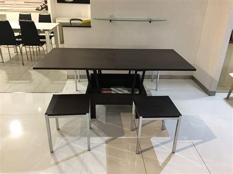 tavoli con sgabelli offerta tavolino trasformabile weng 232 con sgabelli tavoli